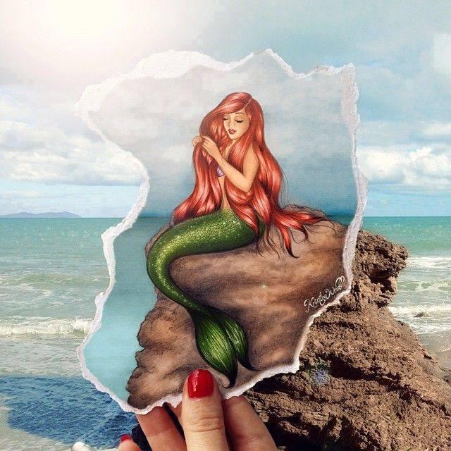 Originales ilustraciones de Moda por Kristina Weeb