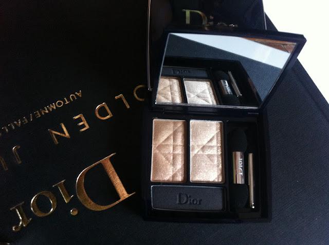 Dior Golden Jungle Collection fall autunno 2012 duo smalti crackle top coat palette