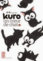 Actu Manga, collection Made In, Critique Manga, Kana, Kuro un coeur de chat, Manga, Sugisaku,
