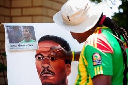 Senzo Meyiwa, Kiper Afrika Selatan Meninggal Muda