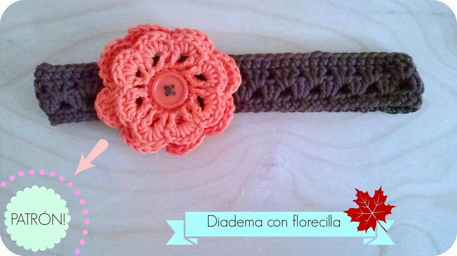 Happy ganchillo diadema de oto o patr n for Diademas para bebes de ganchillo