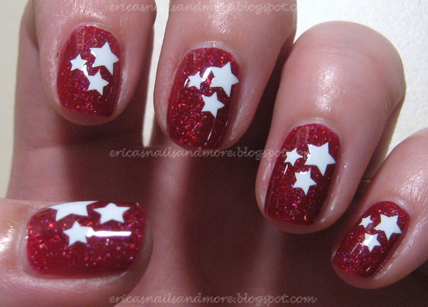 Erica 39 S Nails And More Make It Stick Nail Decal Tutorial