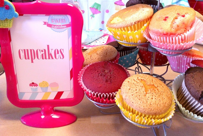 cupcake party printables, cupcake recipes, cupcake party supplies