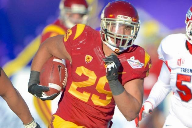 Former USC running back Ty Issac to transfer to Michigan in in the fall.