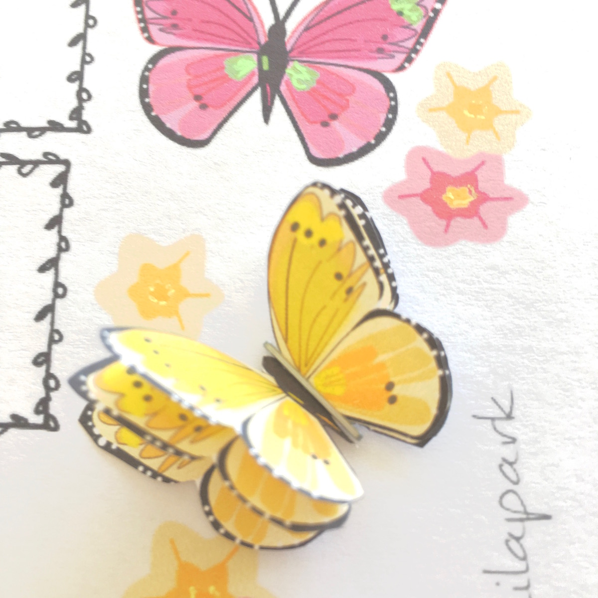 DIY butterfly tutorial: