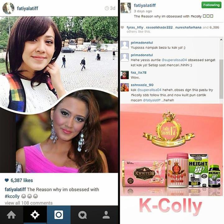 K Colly Collagen Harga CANTIK DENGAN K-COLLY