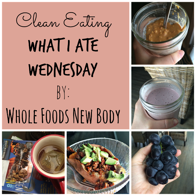 clean eating what i ate wednesday