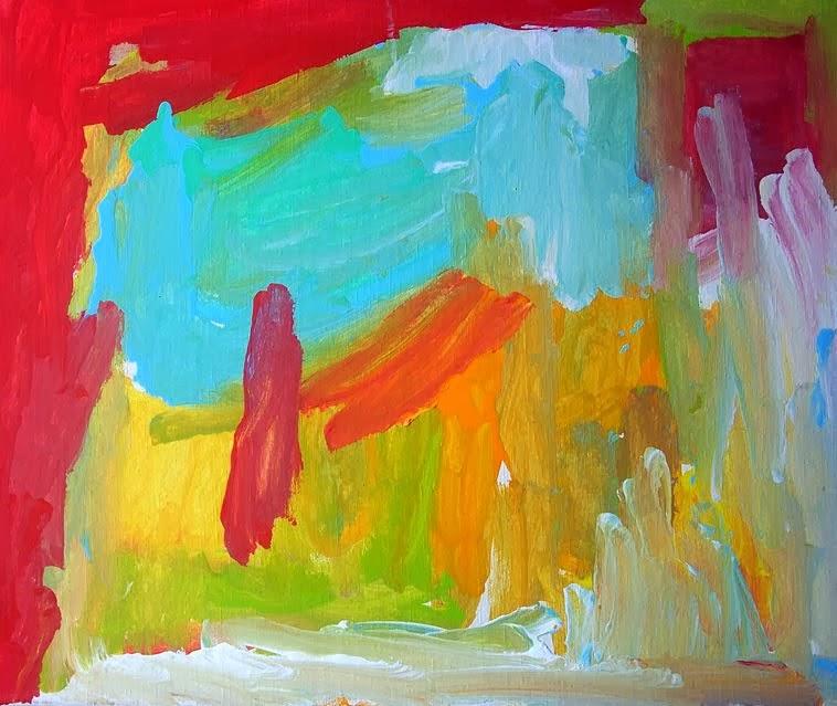 Obra realizada por joven con limitación física