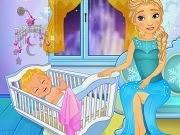 Frozen Elsa Breast Feed