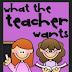 Today's Guest: What the Teacher Wants