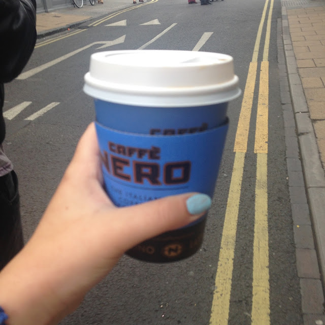 Cafe Nero, Blogging, Sunday Outings