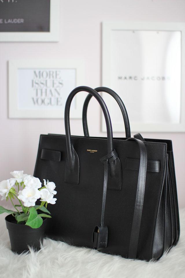 ysl black handbag - STYLED \u0026amp; SMITTEN: Saint Laurent Sac De Jour