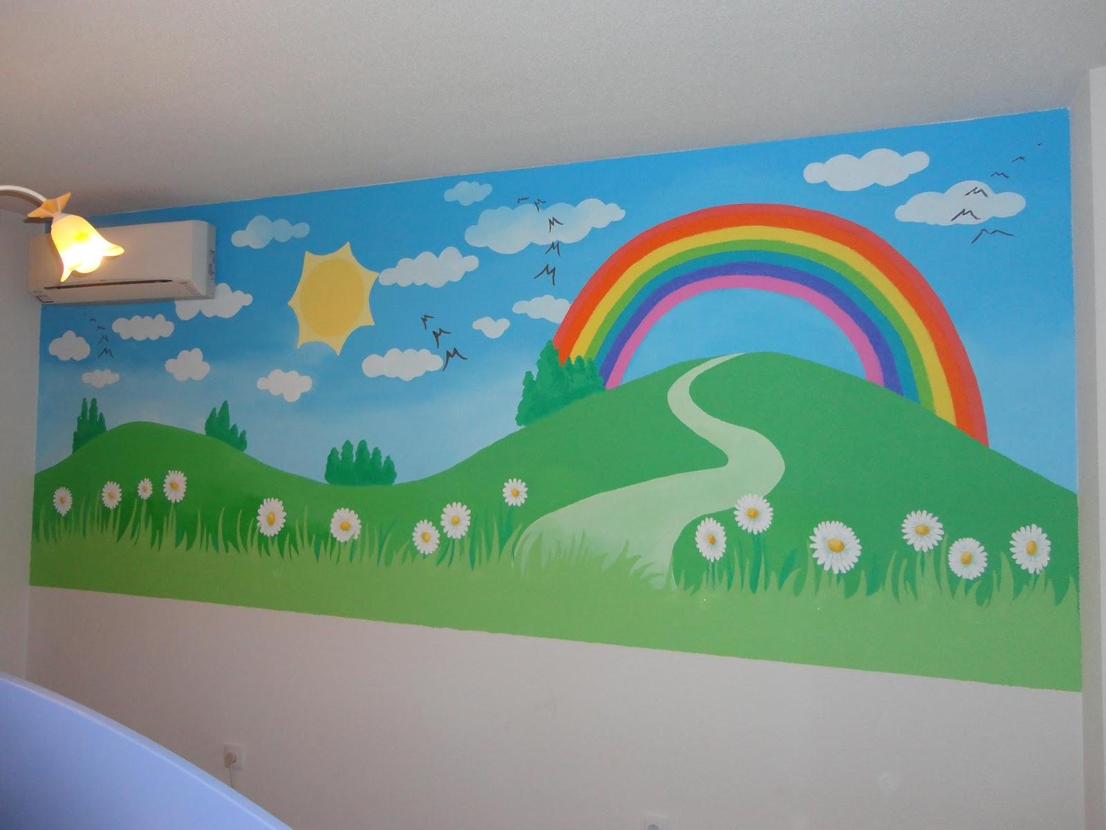 Decopared murales infantiles que dan vida al cuarto de tu - Pintar mural en pared ...