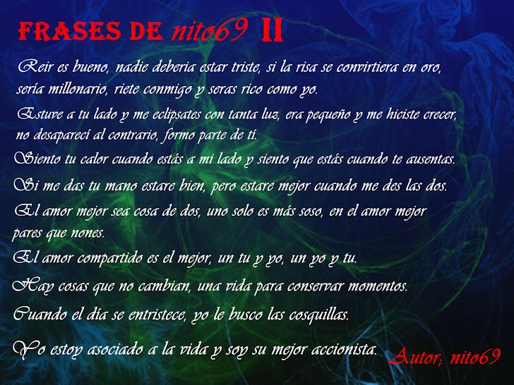 FRASES DE nito69 II