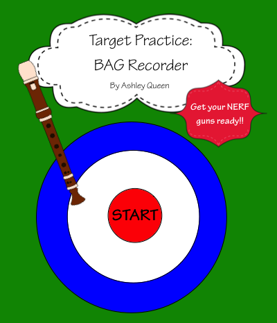 http://www.teacherspayteachers.com/Product/Target-Practice-BAG-Recorder-1119107