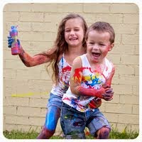 Paint Fight!