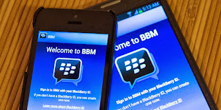 Chronology of the push-pull BBM on Android and iOS