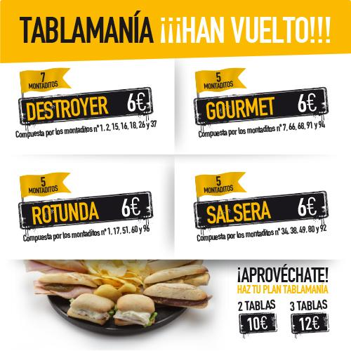 Tablamania 100 Montaditos