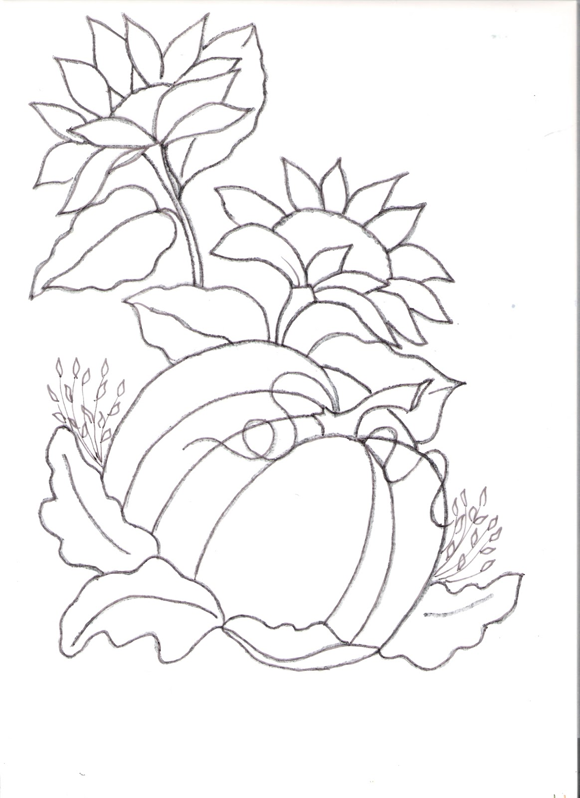 Free Coloring Pages Of Pond