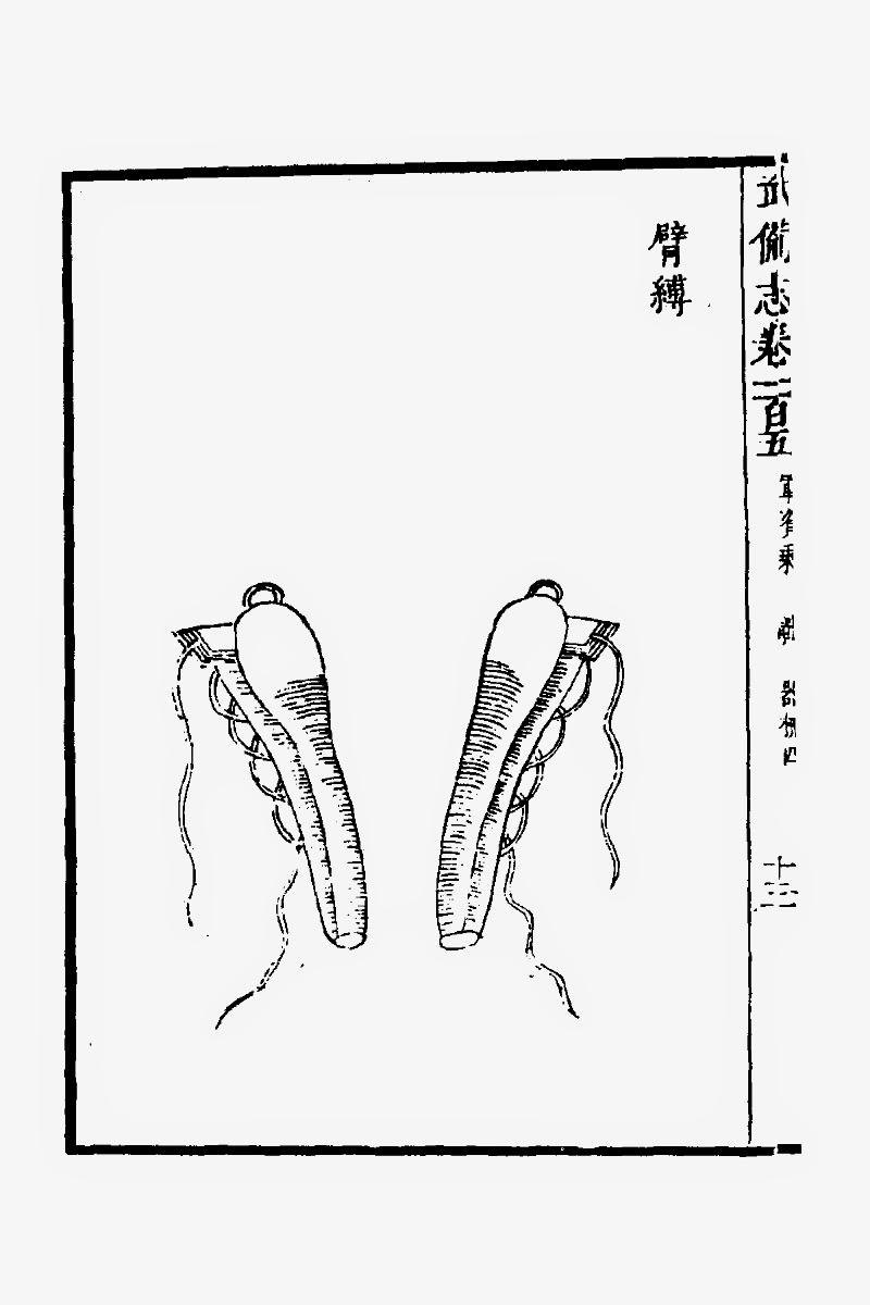 Ming Chinese Iron Armguard
