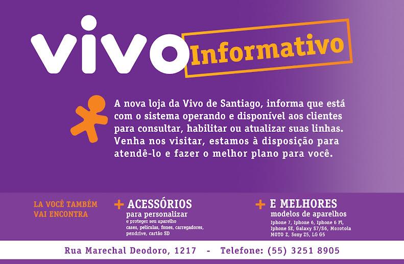 Nova Loja da VIVO em Santiago