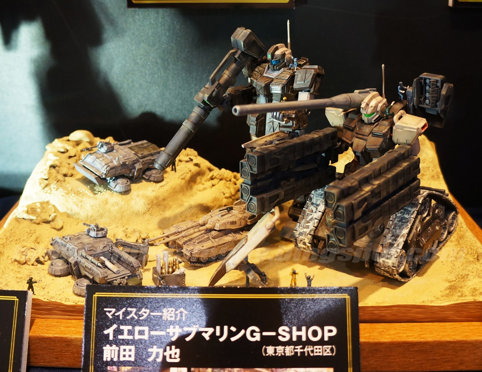 GUNDAM GUY  Bandai Hobby Pro Shop  UC Era Diorama Build   On