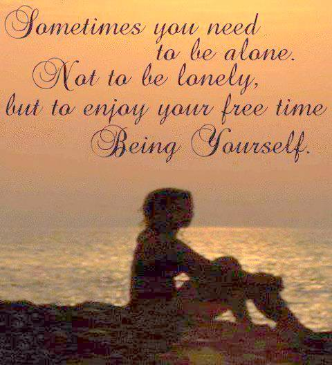 enjoy free time being yourself inspirational picture quotes