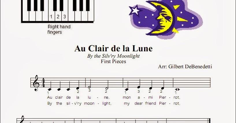 Partituras Para Piano Faciles Para Ninos Con Numeros Ninos Creativos