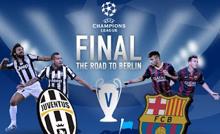 Champions League Final infograph 2014-2015 - Juventus vs Barcelona