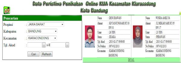 KUA Kiaracondong Kota Bandung Berbasi IT.