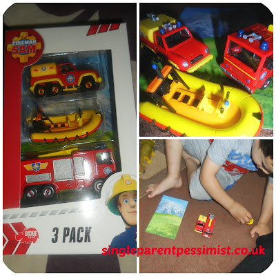 fireman sam vehicle set
