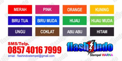 warna pesan stempel murah
