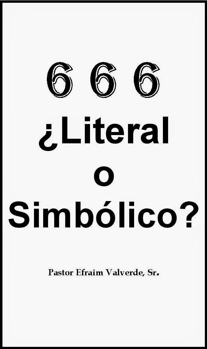 Efraim Valverde-666 ¿Literal o Simbólico?-