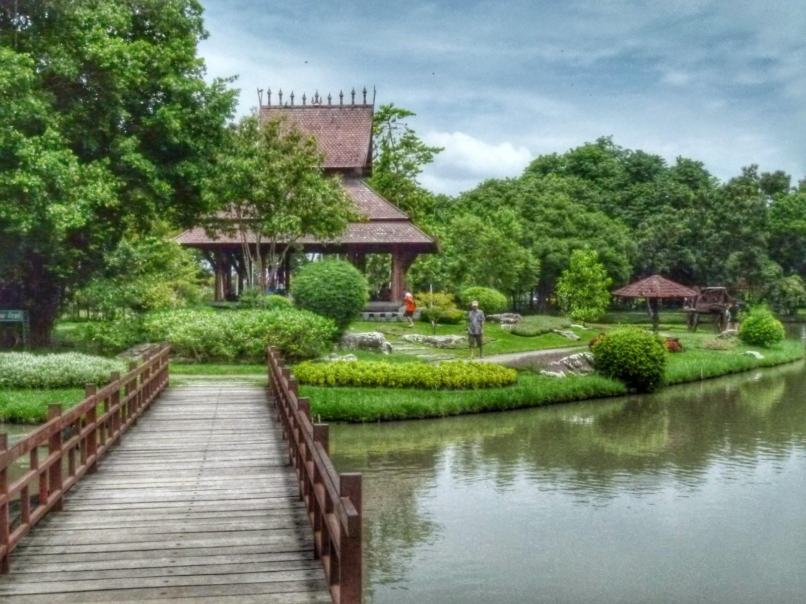 Rama IX Botanical Gardens in Bangkok