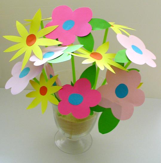 Comment fabriquer une fleur en papier comment a marche - Fabriquer une fleur en papier ...