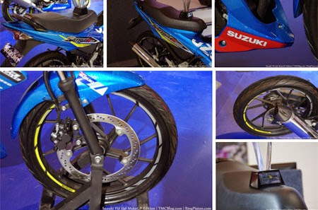 gambar Suzuki Satria FU150 versi motoGP