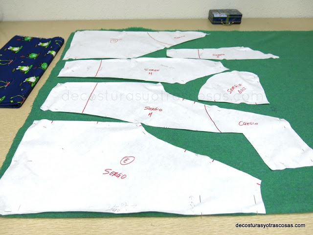 plano de corte sudaderas