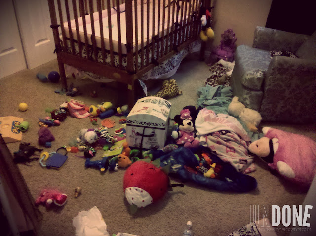 The Undone Blog: Toddler escaping the crib {Frequent Frustrations}