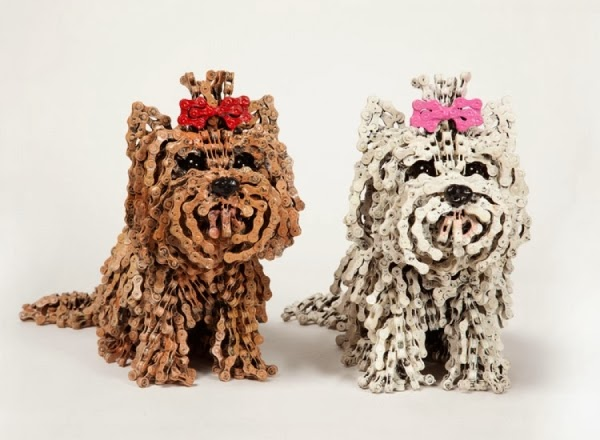 Choo Choo and Baby Choo, Yorkshire Terriers