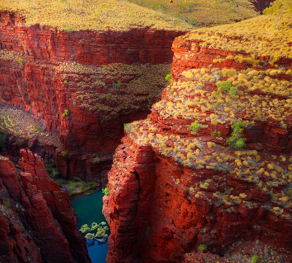 Karijini Australia  city photos : Lugares Fantásticos: karijini National Park – Austrália