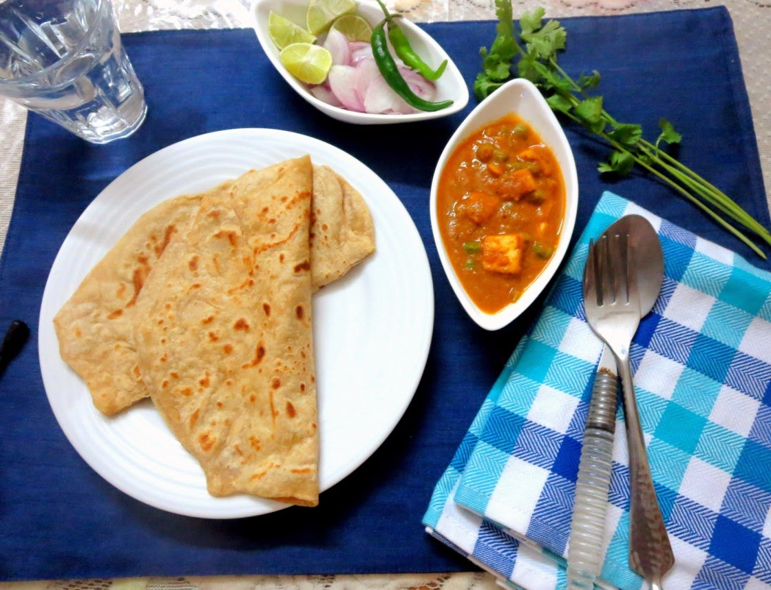 mattar paneer 4 | how to make peas paneer ~ side dish for rotis