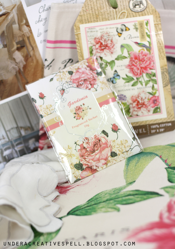 scented Gardenia Fragrance Sachets for drawers