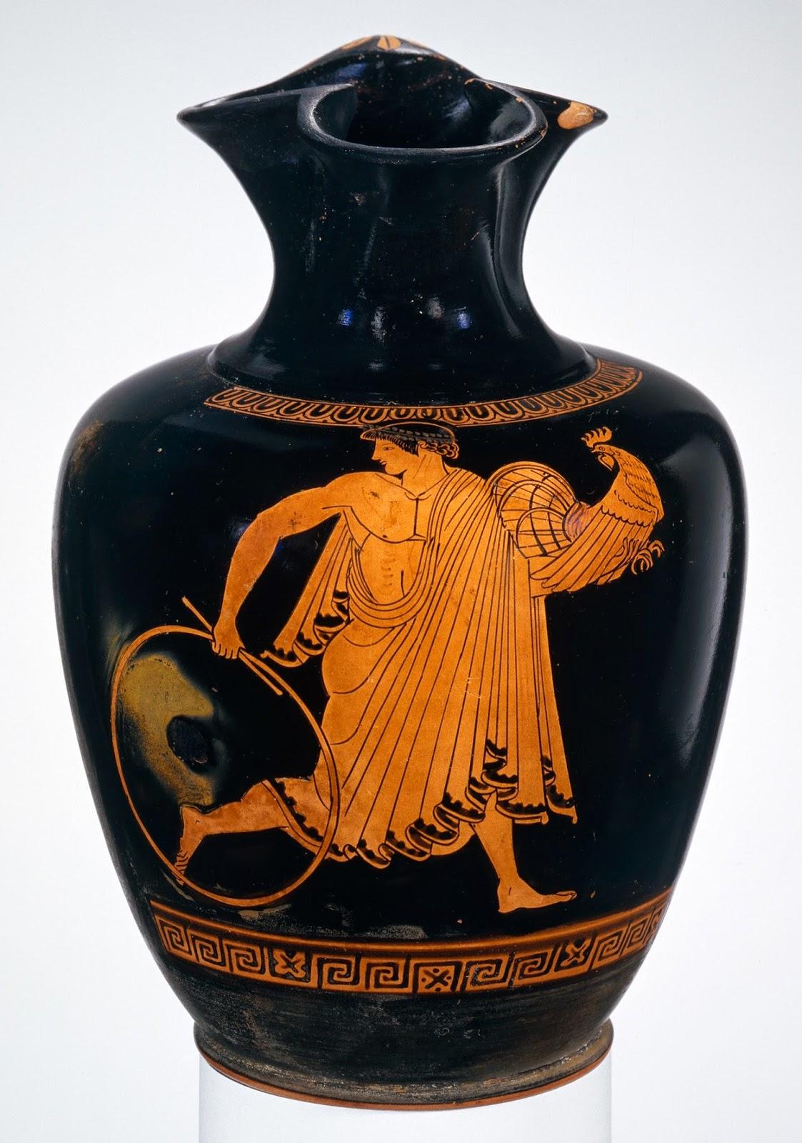 Pintor de Pan, Ganimedes (cerámica griega, h. 470 a.C.), Metropolitan Museum, Nueva York