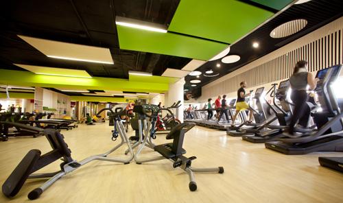 Reebok Sports Club byTeresa Sapey in Madrid, Spain.