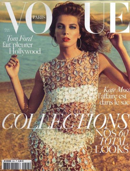 Daria Werbowy ,Vogue magazine