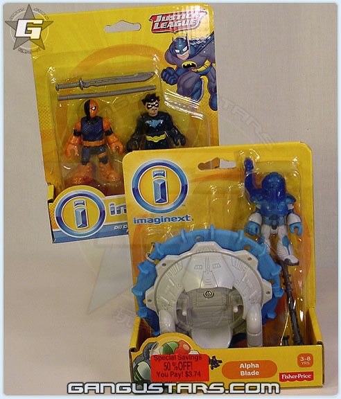イマジネックスト Imaginext Slade Nightwing Deathstroke Batman Fisher-Price アメコミ バットマン