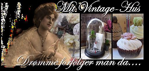 Mit Vintage-Hus
