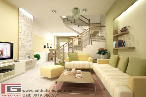 Thiết kế thi công nội thất, trang trí nội thất Triệu Gia 2013