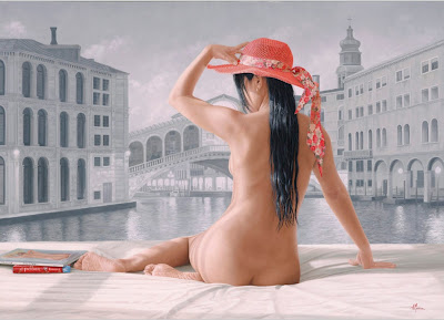 Pintura Al Oleo Mujer Desnuda