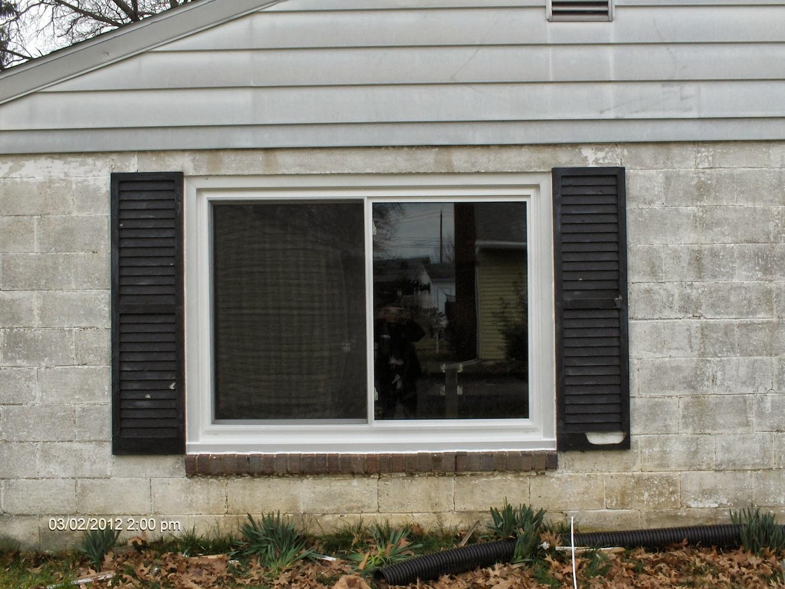 Aspen home improvements replacement windows doors for Basement window replacement